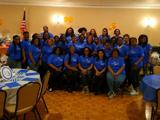 Zeta Phi Beta Sorority Inc., Omega Mu Zeta Chapter,