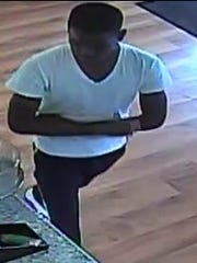 Jackson police are searching for this man who they believe used counterfeit money at Gigi's Cupcakes.