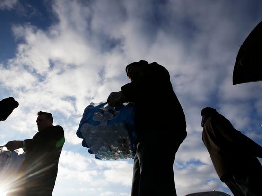 flint water donations