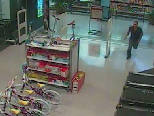 Man shoplifting in Mesa