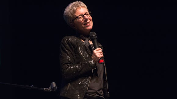 """Terry Gross, host of NPR's  """"Fresh Air with Terry Gross,"""" will appear at The Grand in Wilmington Sunday."""