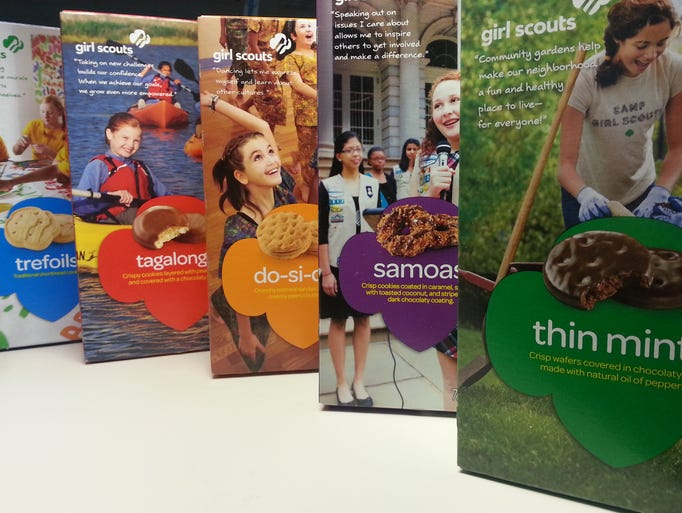 arizona girl scouts vie for world cookie sales record