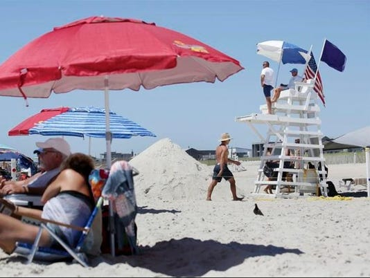 Fire Island lifeguard