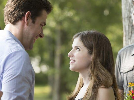 John Krasinski as John Hollar and Anna Kendrick as