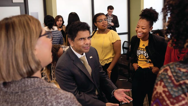 NKU's new president Ashish Vaidya wants the university to make an impact on students to lead meaningful lives, not just fulfill careers
