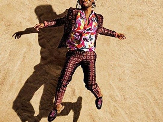 """The cover art for """"War & Leisure,"""" Miguel's new album."""