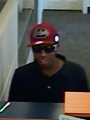 A suspect in a robbery of a PNC bank in Pocomoke City