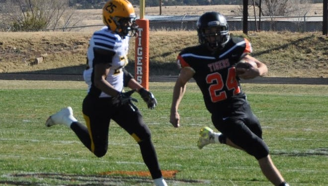 Capitan High School's Price Bowen is student athlete of the week.