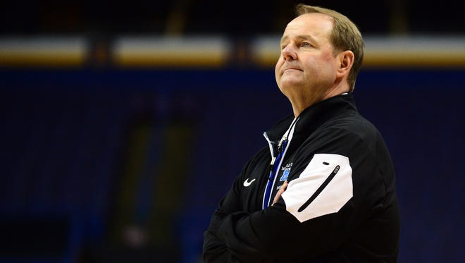 Kermit Davis Jr. played at Mississippi State but officially jumped to the other side of the rivalry when he was pegged as Ole Miss' new coach Thursday.