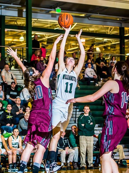 Eaton Rapids vs Williamston Basketball