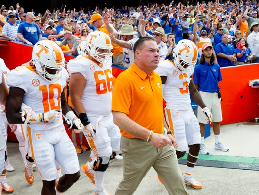 Tennessee football schedule 2018