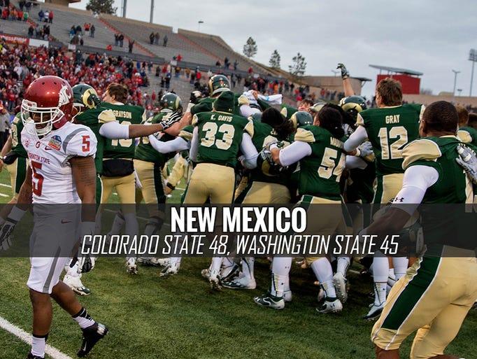 New Mexico Bowl, Dec. 21