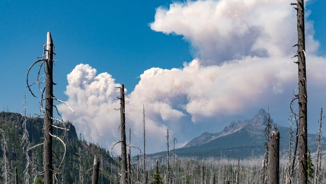The Whitewater Fire on Aug. 2.
