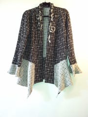 Jacket by Ann Gainey of AnnLouise Fashions, who is taking part in the second Door County Wearable Art Show of the season.