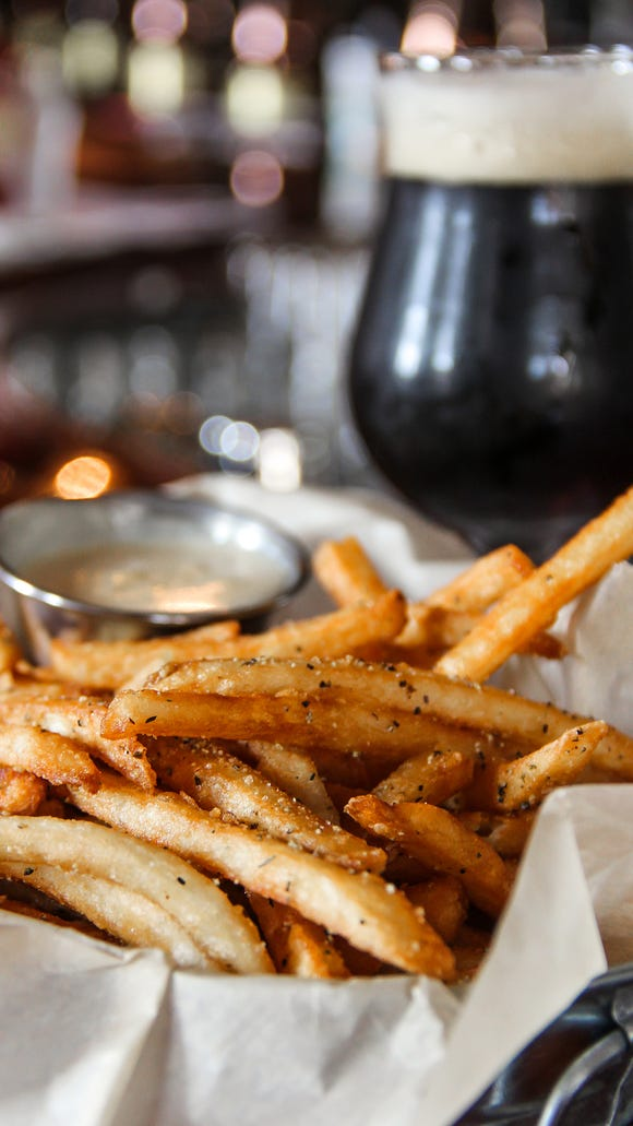 Crack fries will be free from 10 a.m.-5 p.m. Saturday at HopCat.