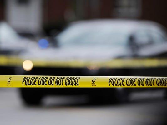 Police tape - Detroit