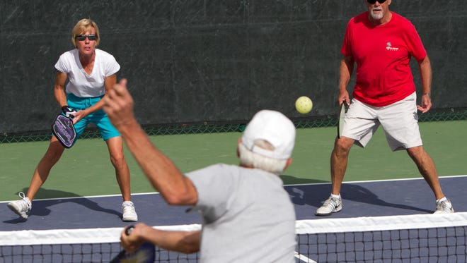 Pickleball requires good eye-hand coordination,  fast reflexes and stamina.
