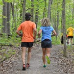 Take on 16 miles of forest  in this trail run