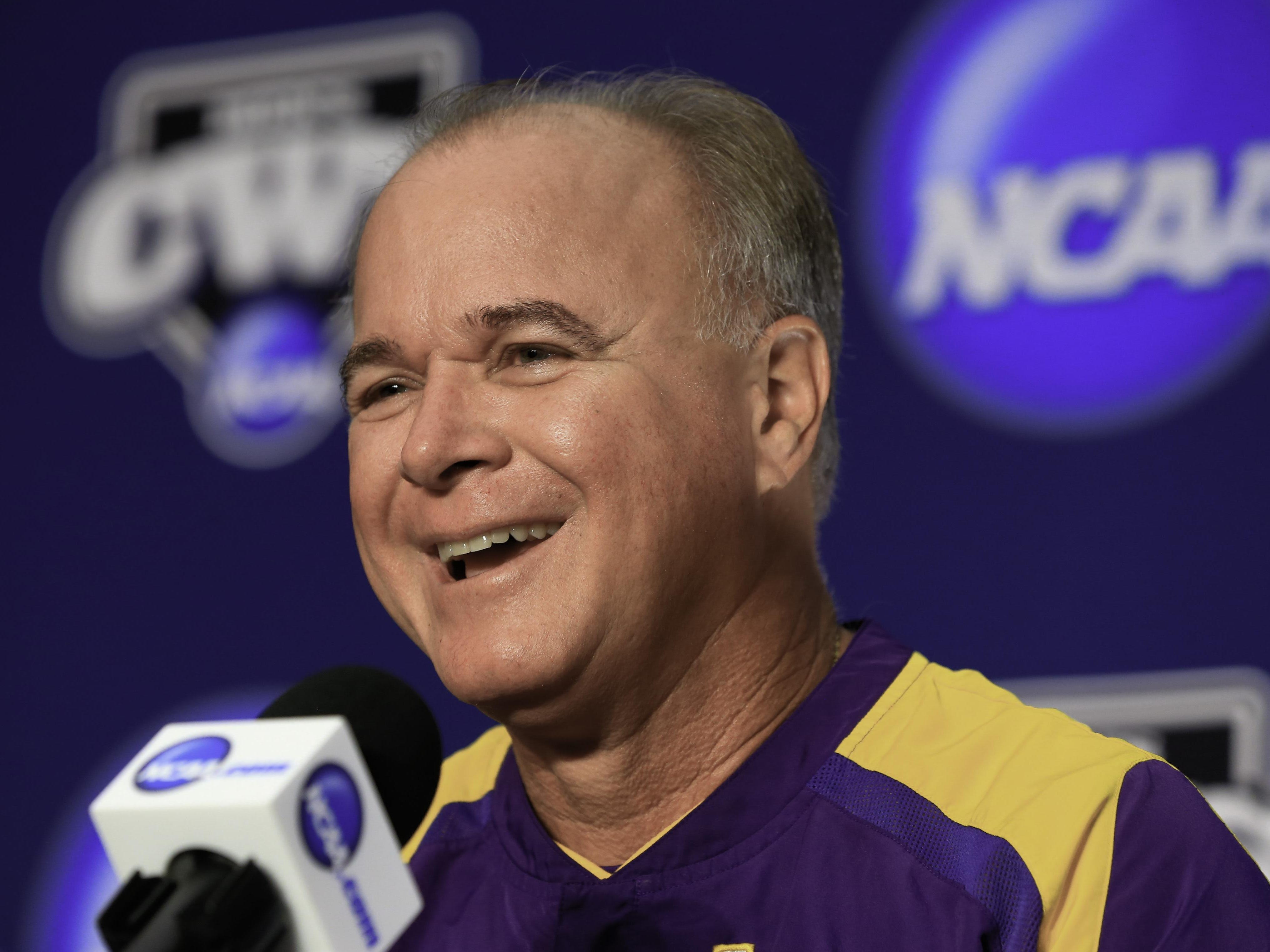 LSU baseball coach Paul Mainieri lost eight position starters from last year's College World Series team.