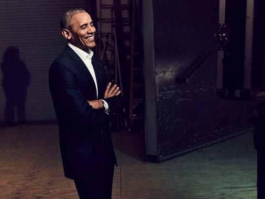 Former President Barack Obama is the first guest on