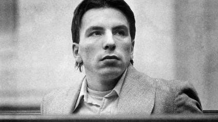 Patriot Ledger file photo of James Riva in 1981 during his murder trial