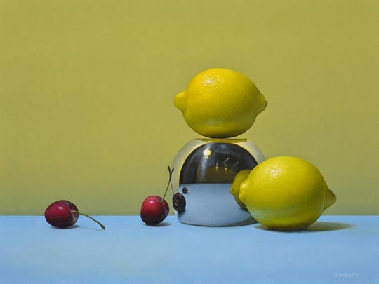 "Trish Coonrod's ""2 Lemons, 2 Cherries"""