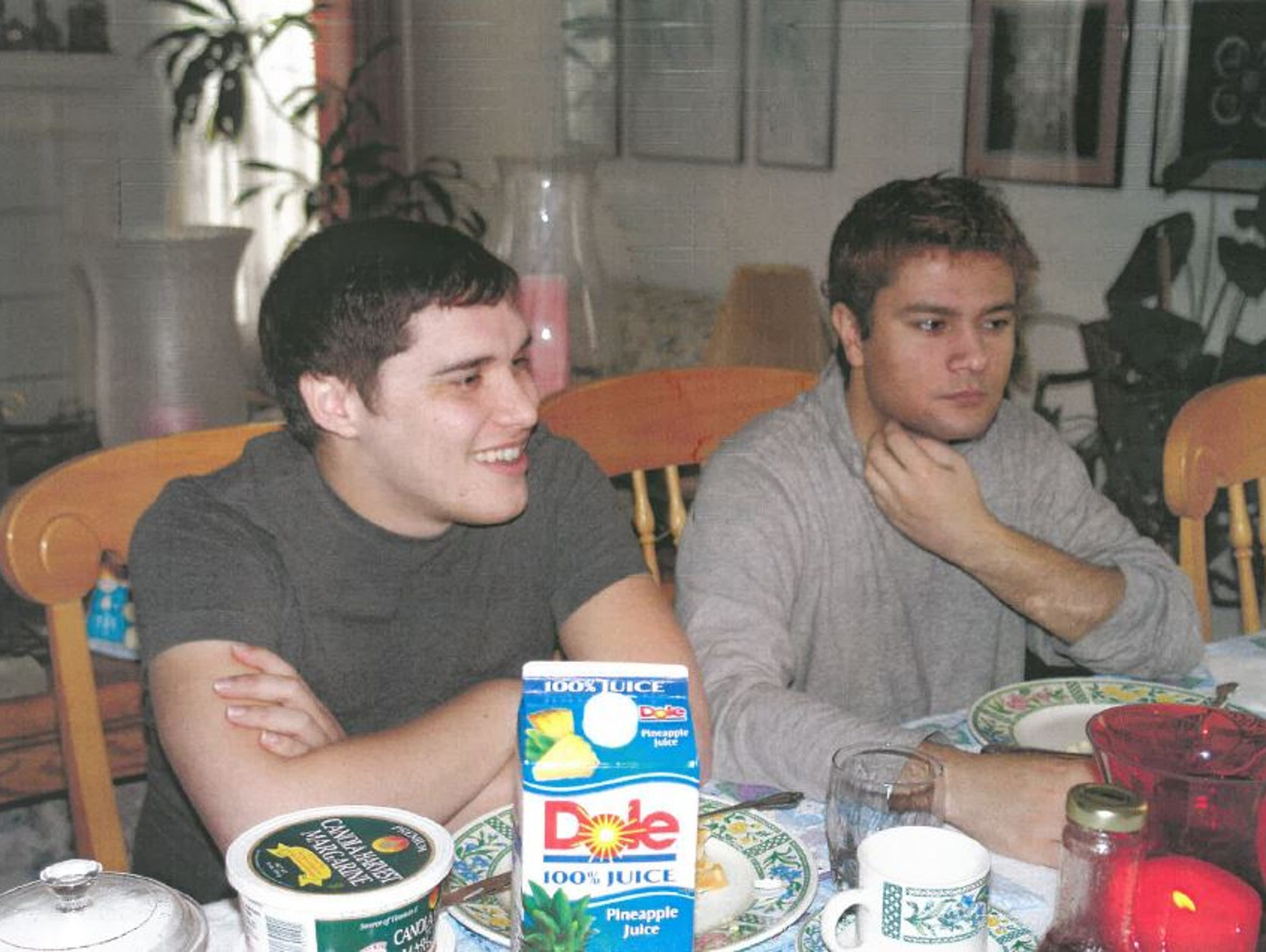 David Garica, left, and Kaushal Niroula, who were convicted