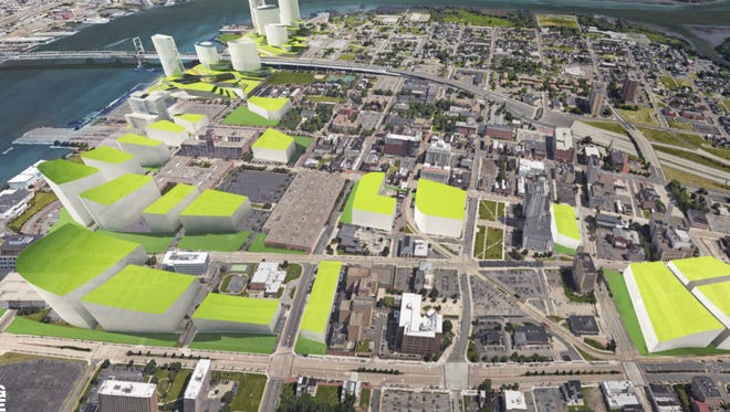 Camden County has proposed a site in downtown Camden and along Waterfront for Amazon HQ2.