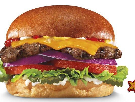 Carl S Jr Natural Burger