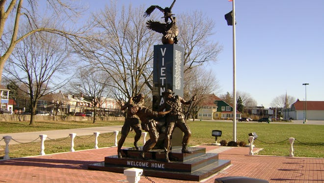 The Vietnam Memorial at the York Expo Center was dedicated in October 2009.