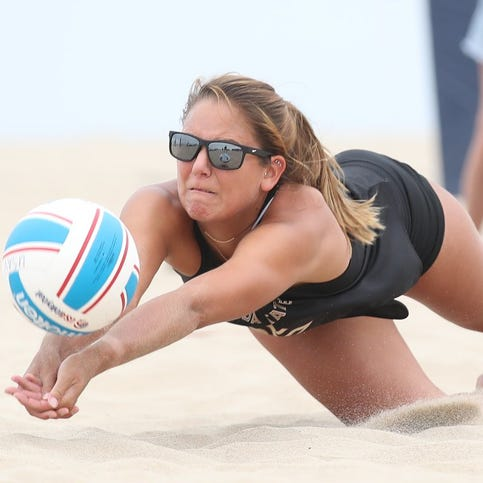 It's no day at the beach facing Florida State volleyball standout Horton