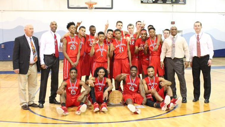 The Burlington School won the 1A NCISSA Championship