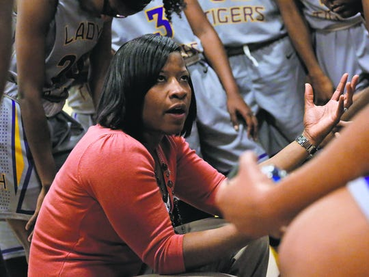 Hattiesburg High girls head basketball coach Caronica