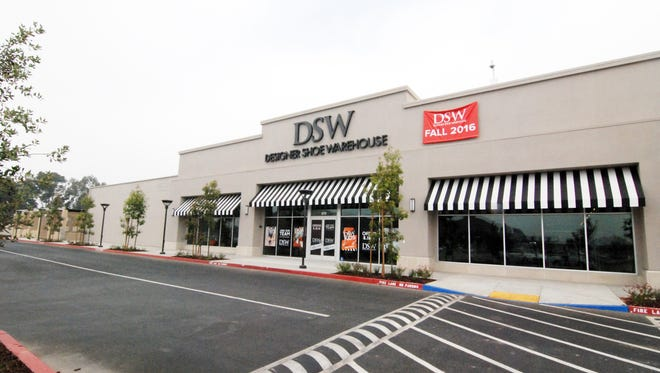 The new Designer Shoe Warehouse, scheduled to open August 18th at 870 Northridge Shopping Center in Salinas.