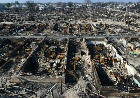 Breezy Point Drowned Burned But Unbowed