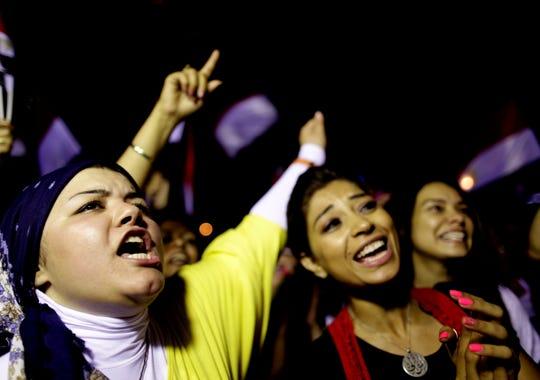 Cairo celebration