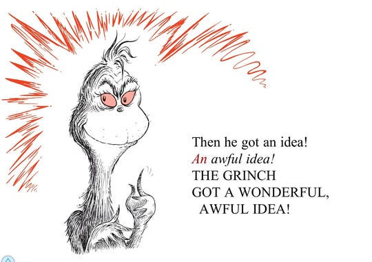 Book Quotes From The Grinch Quotesgram