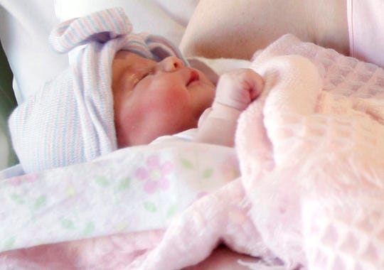 The gallery for --> Newborn Baby Girl In Hospital Just Born