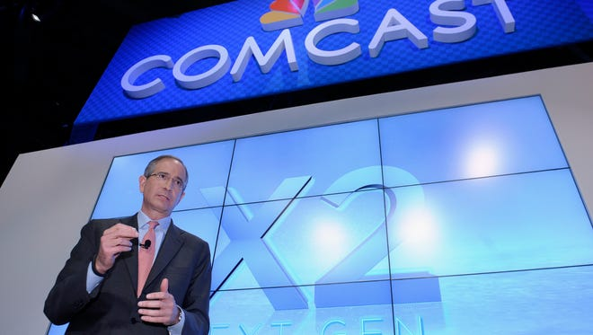 Comcast CEO Brian Roberts during The Cable Show 2013 convention in Washington in June.