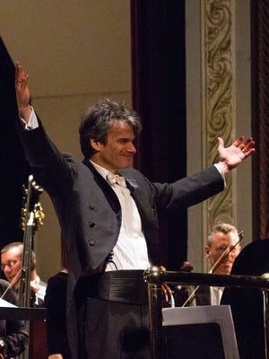 Hudson Valley Philharmonic conductor Randall Craig Fleischer.