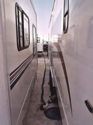 Recreational vehicles owned by Chaparral Sanitation