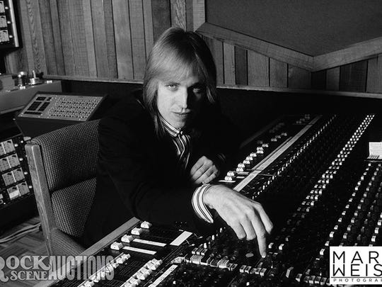 Prints of this portrait of Tom Petty, who died last month, signed by the photographer Mark Weiss, are available for auction via Rock Scene Auctions through Nov. 23.