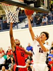 Jayden Iturmendi (right) and York High will look to