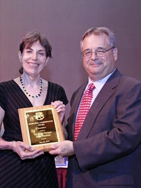 South Plainfield environmental specailist wins award