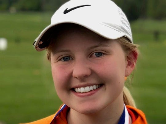 Sprague golfer Reese Sherwood.