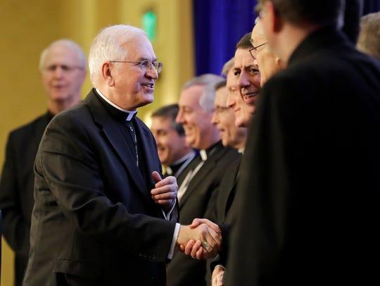 Archbishop Joseph Kurtz, of Louisville, Ky., president