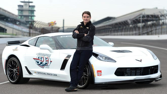 NASCAR champion Jeff Gordon will drive the Chevrolet Corvette Z06 pace car in this year's Indianapolis 500