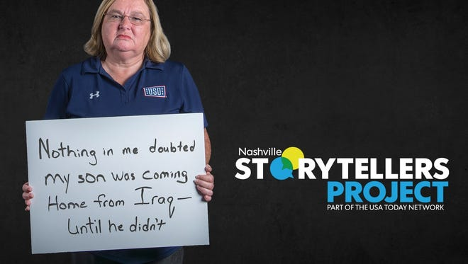 Gold Star mom Tammy Bass shares the story of her son's service at the next Nashville Storytellers.