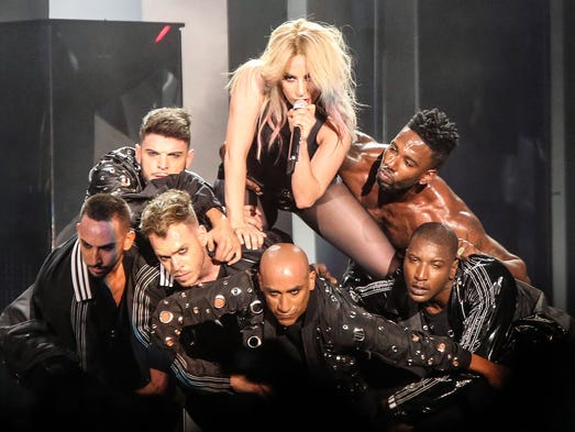 Lady Gaga is back on the Coachella stage Saturday for