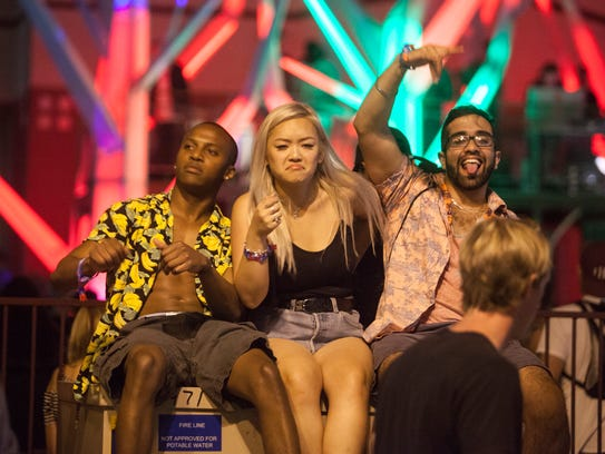 Music fans from around the world gather in Las Vegas